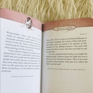 Other - Leather Bound Jesus Calling Book by Sarah Young